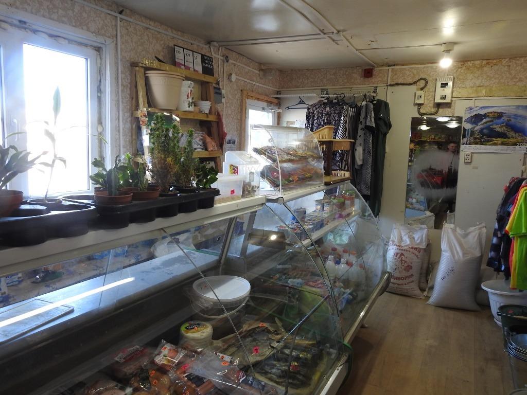 Сельский магазин внутри