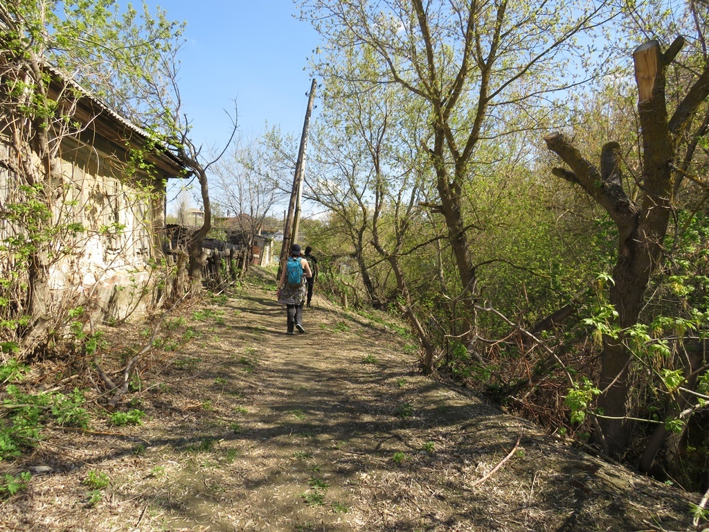 Окраина села Бурлук