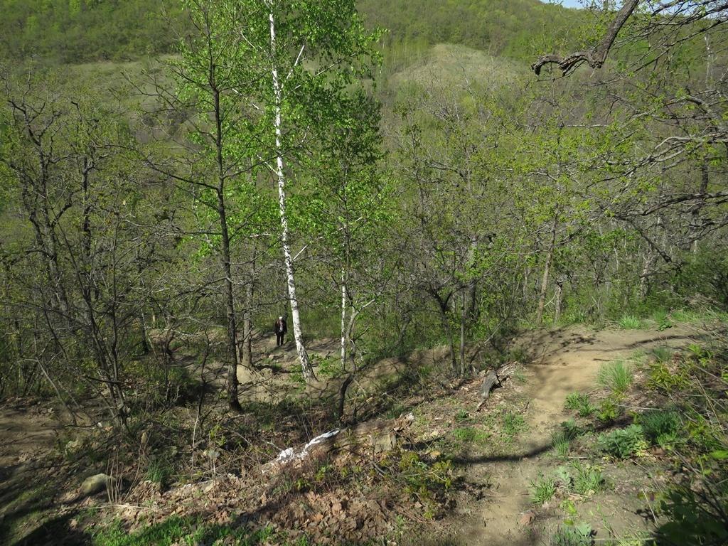 Подъём на Кудеярову гору