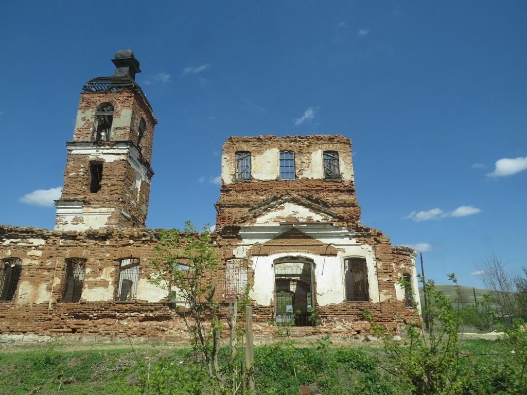 Церковь села Гремячка