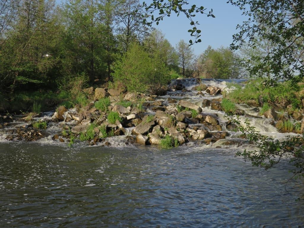Чардымский водопад
