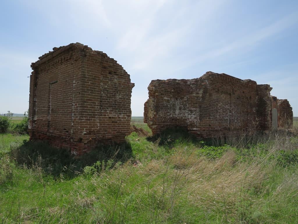 Ненарокомовка руины храма