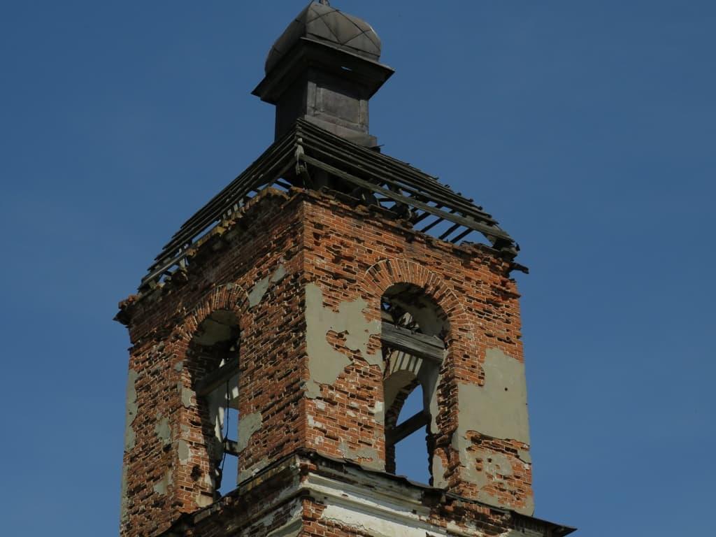 Храм в Гремячке колокольня