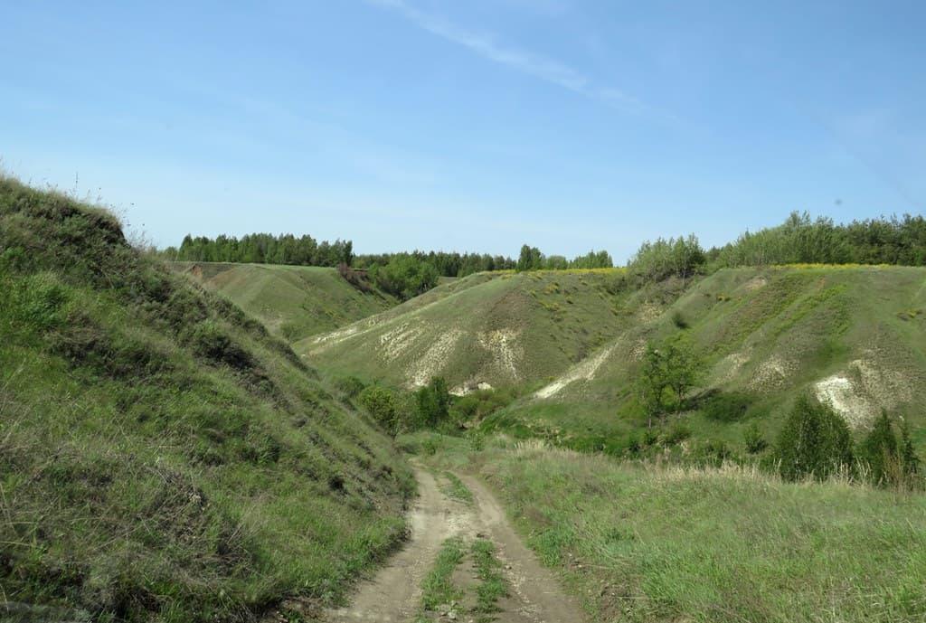 Долина реки Гремячка