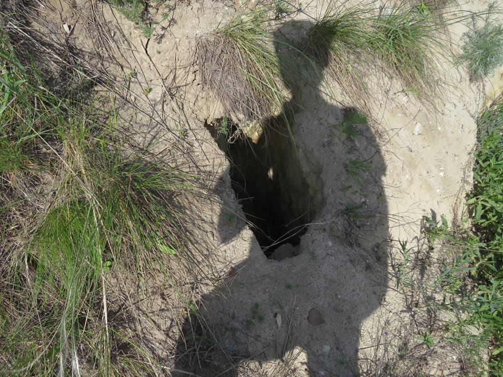 Песчаные провалы