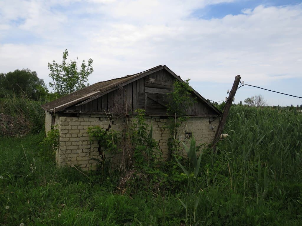Одинокий дом на болоте