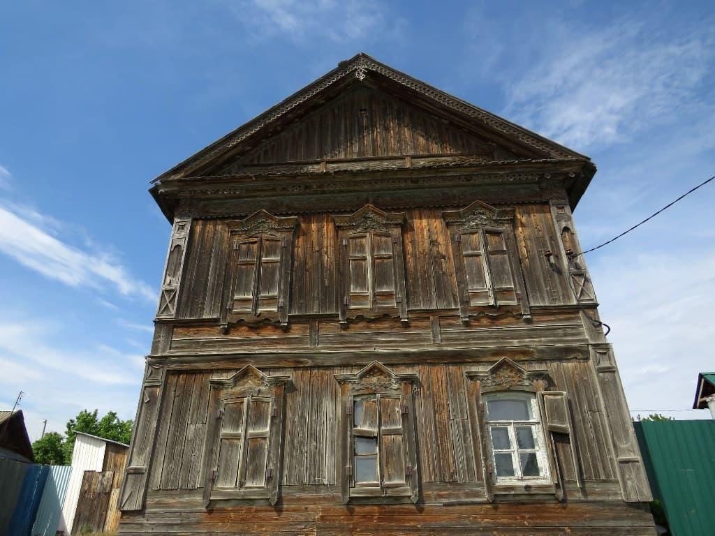 Красивый дом в Пудовкино