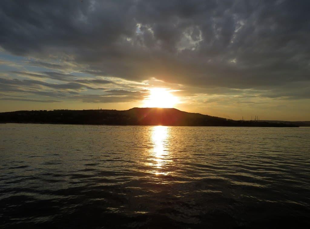 Закат над Увеком