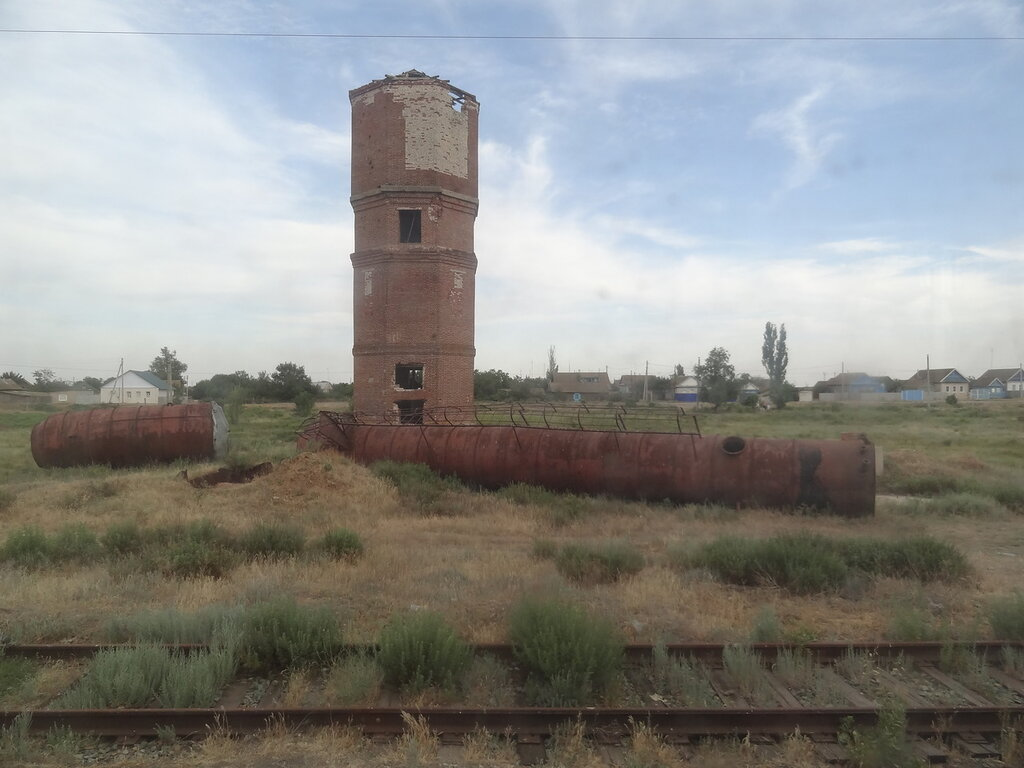 Водонапорная башня Абганерово