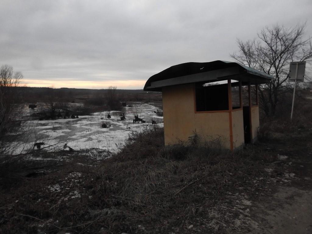 Автобусная остановка Барановка