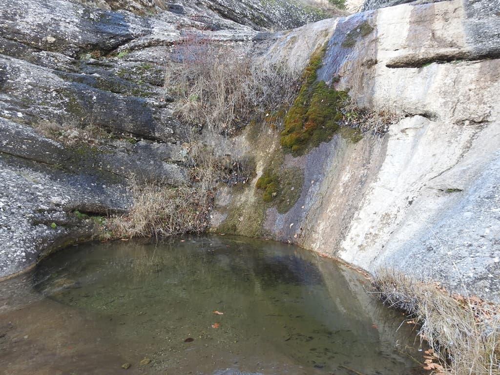 Водопад Джурла в январе