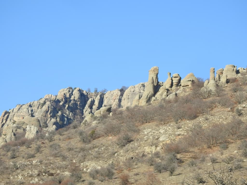 Скалы Демерджи