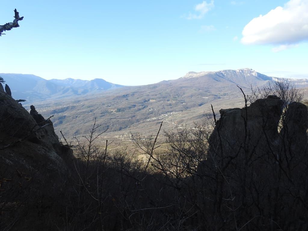 Вид с южного склона Демерджи