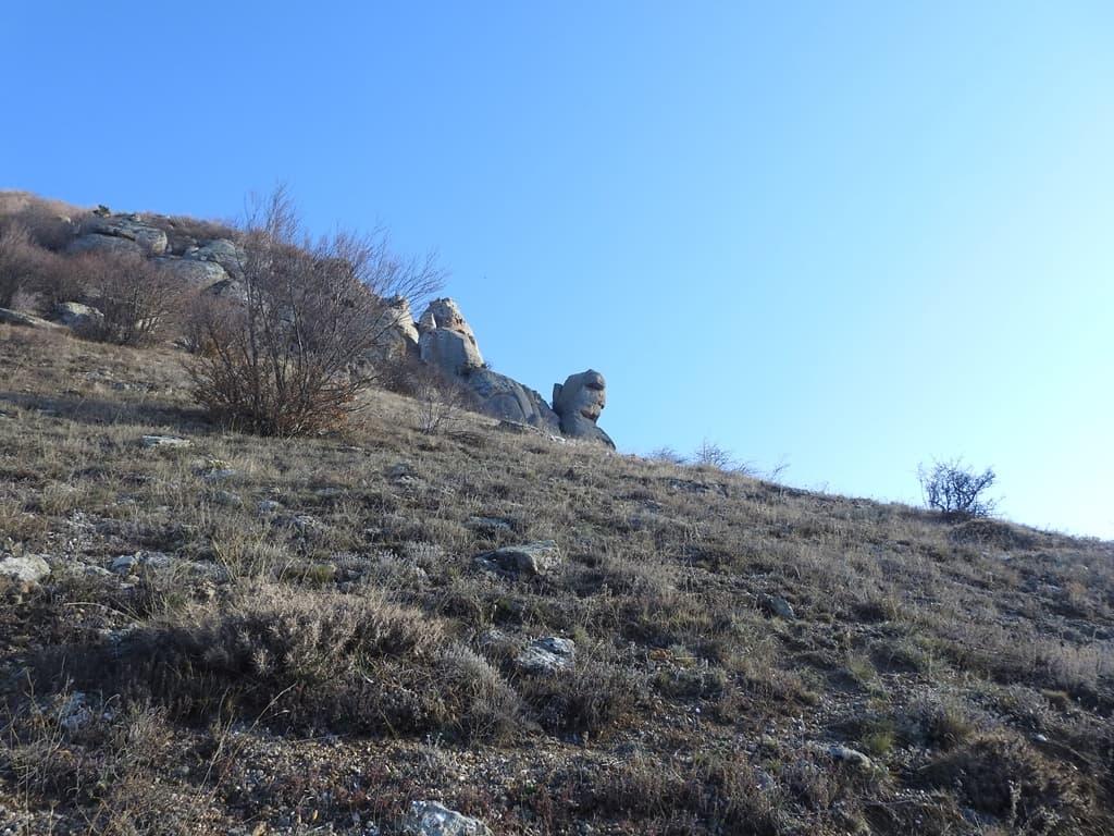 Южный склон горы Аленга