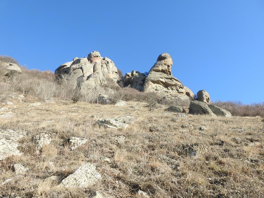 Скалы горы Аленга