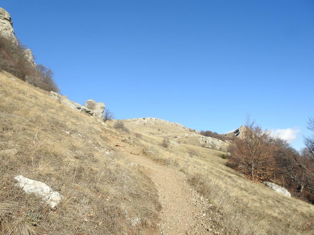 Склон горы Аленга