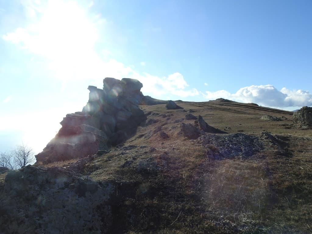 Вершина горы Аленга