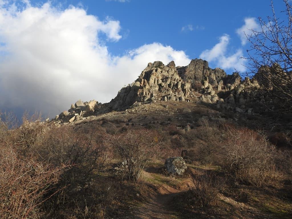 Южный склон Демерджи