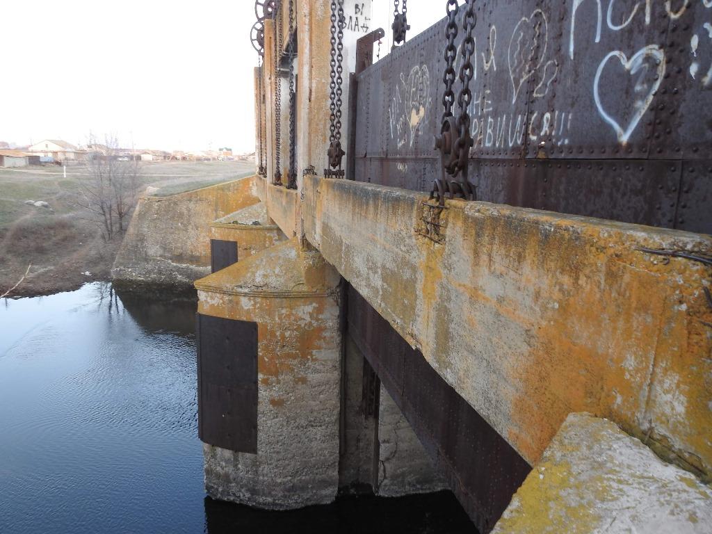 река Еруслан мост