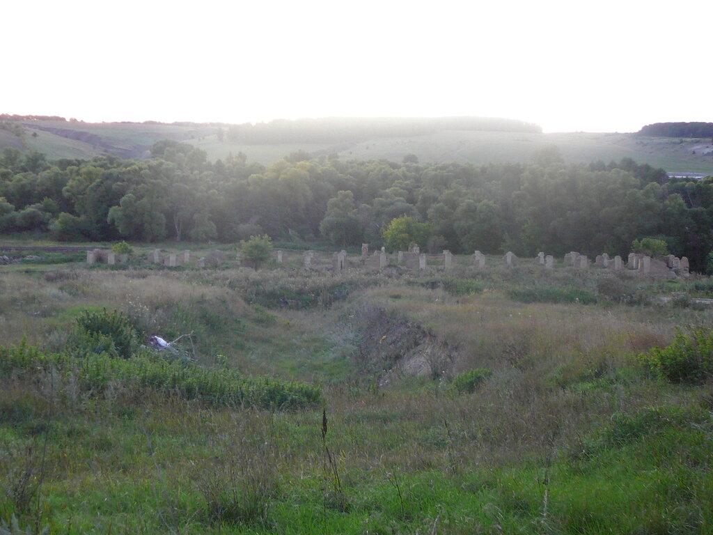 Руины коровников