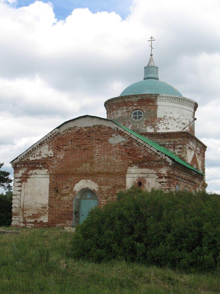 Церковь Лопуховка
