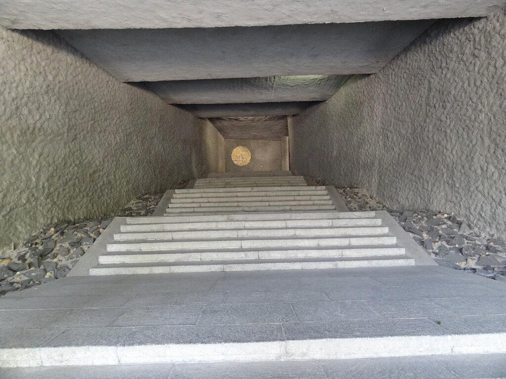 Вход в зал воинской славы Мамаев Курган