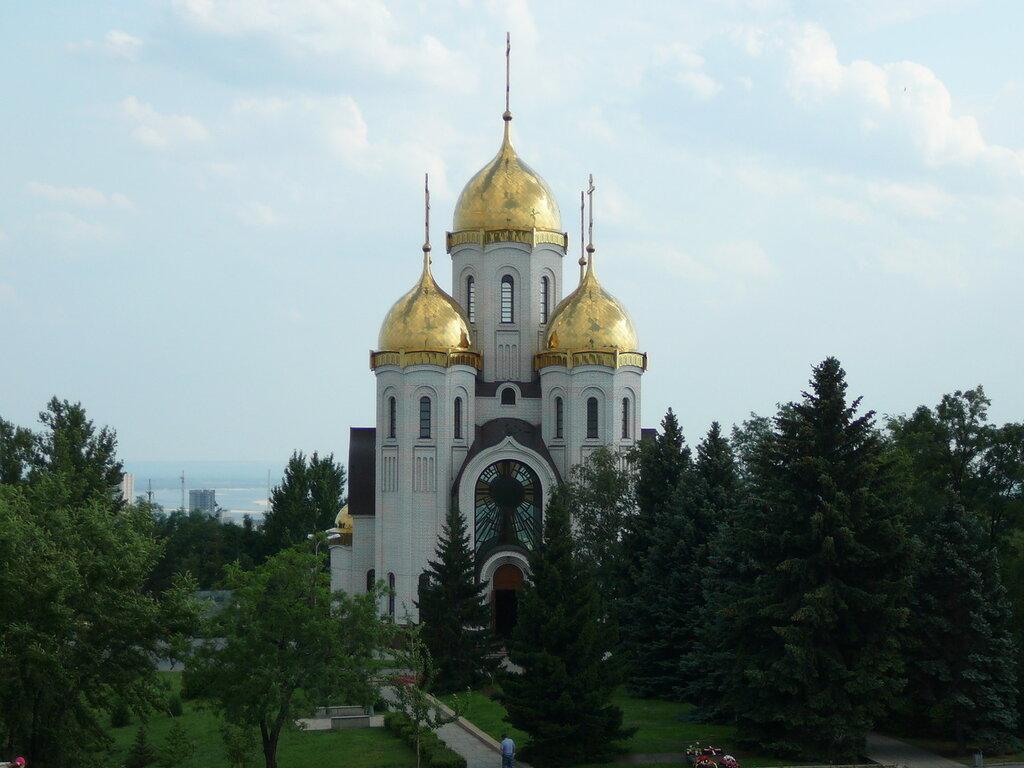 Храм всех святых Мамаев Курган
