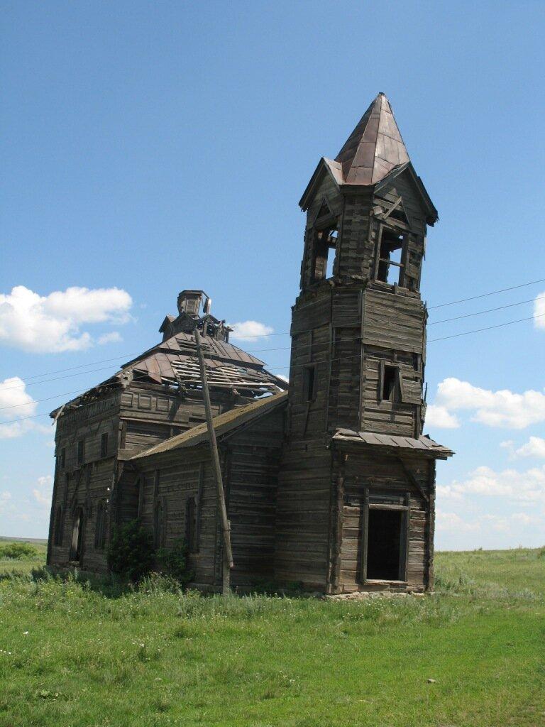 Деревянная церковь Новая Осиновка