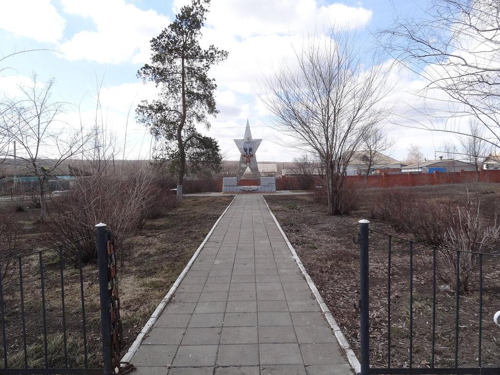 Памятник ВОВ Приречное