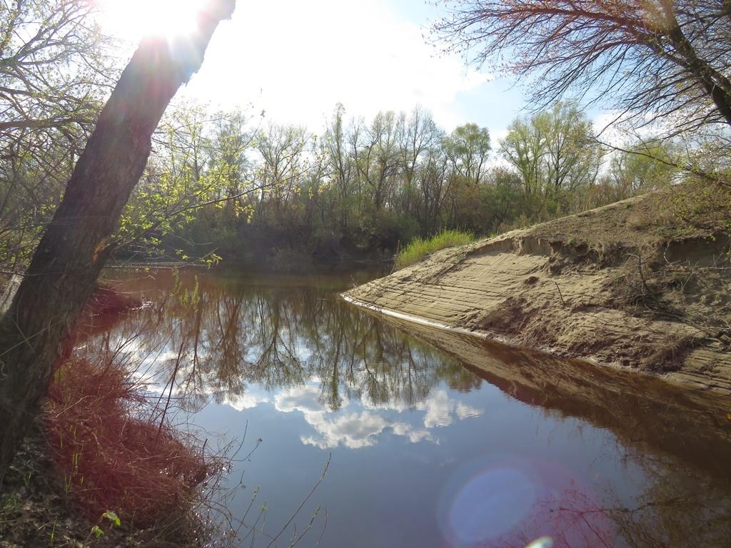 река Бурлук у слияния с Медведицей