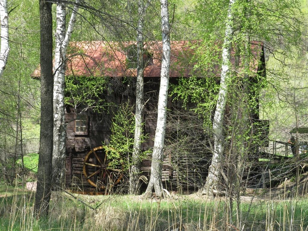 Мельница в селе Лох
