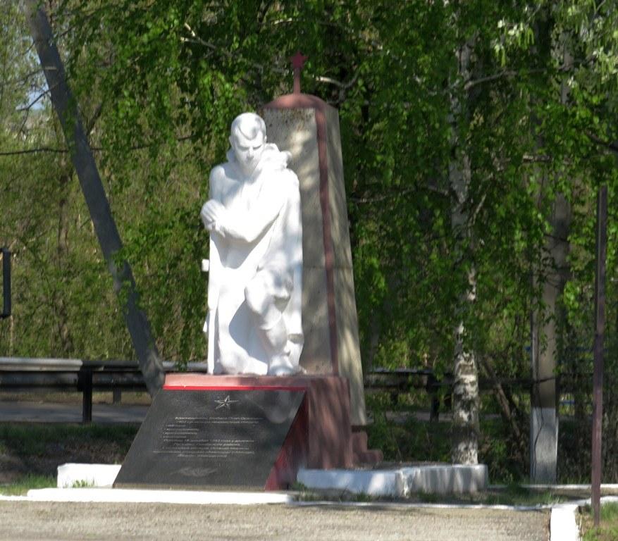 Памятник солдату Тепловка