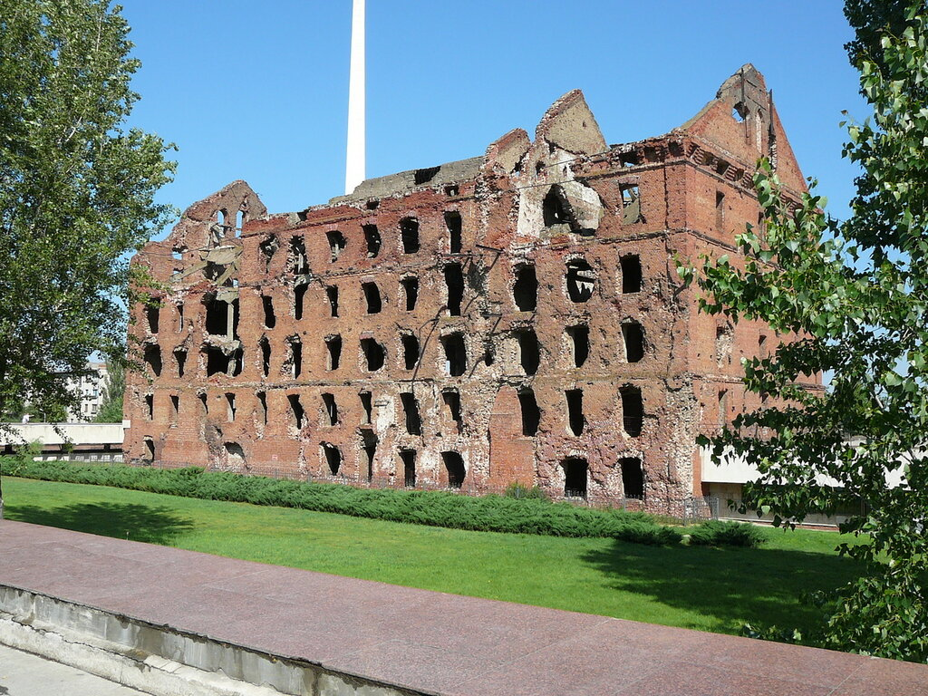 Руины Волгоград