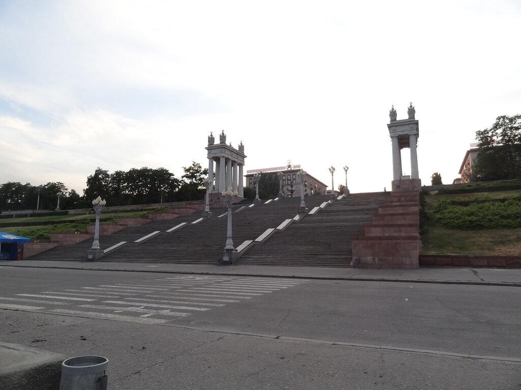 Набережная Волгоград