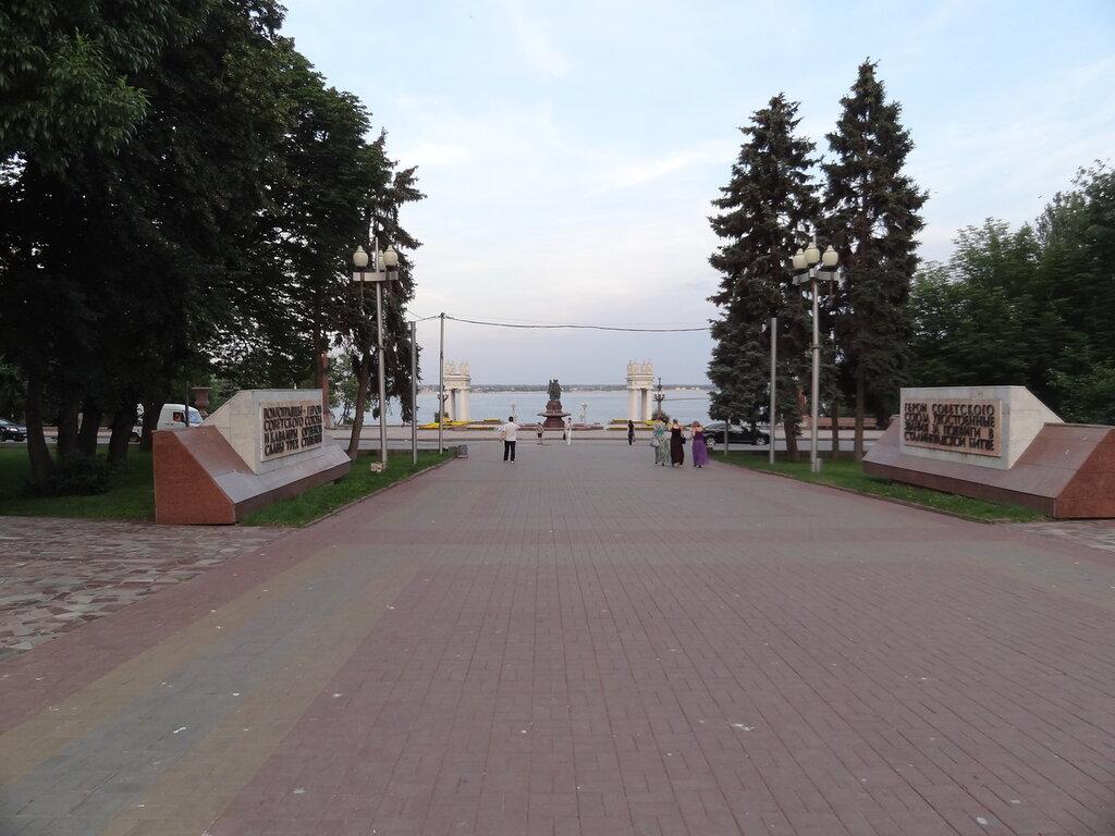 Стелы Героям СССР Волгоград