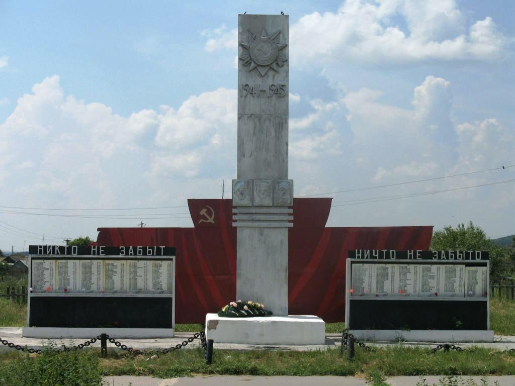 Языковка памятник ВОВ