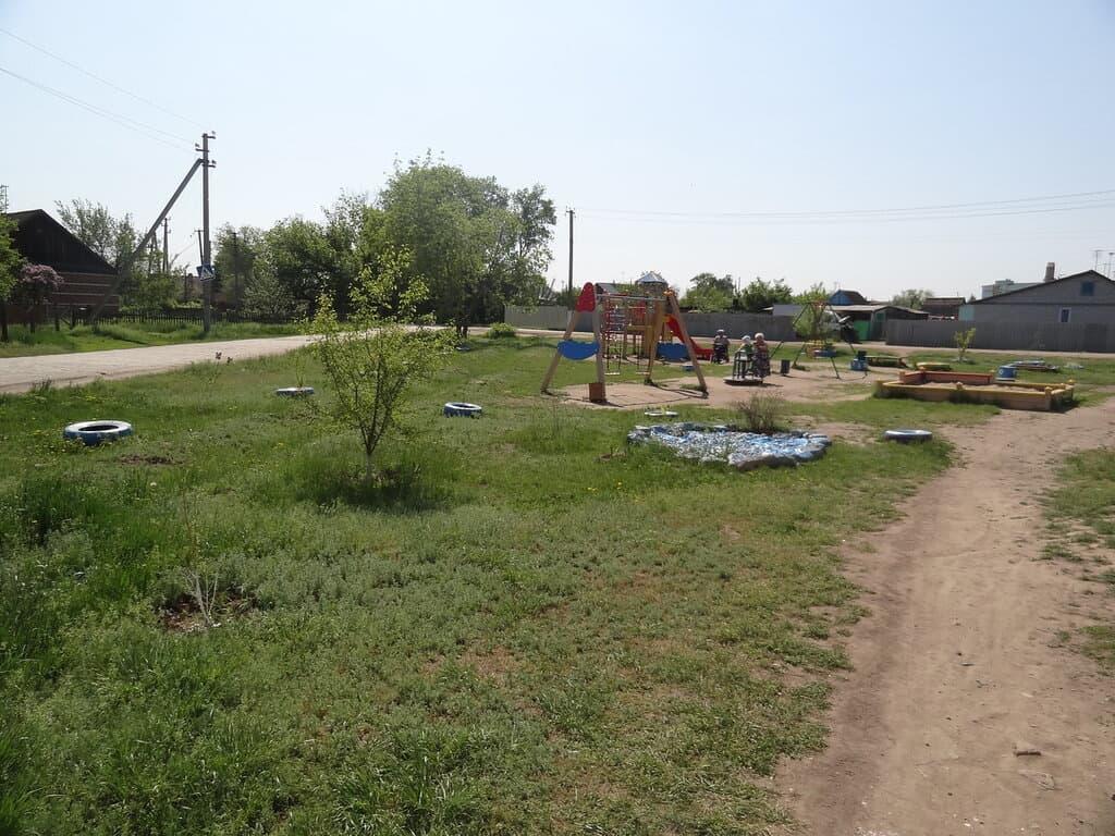Анисовский детская площадка