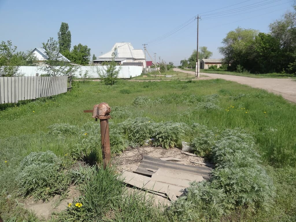 Колонка на селе