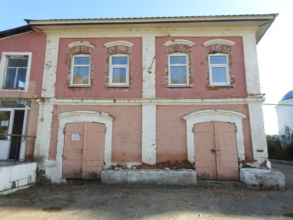 Балтай старое здание