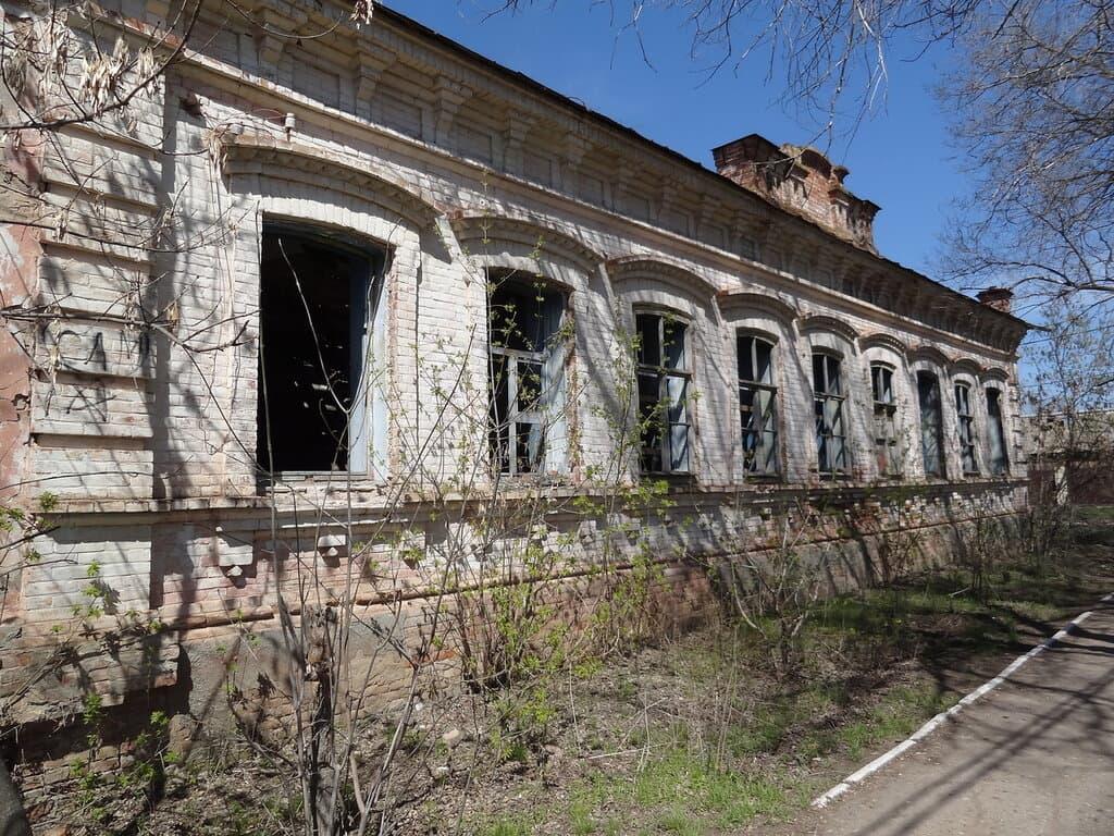 Генеральское заброшенный дом