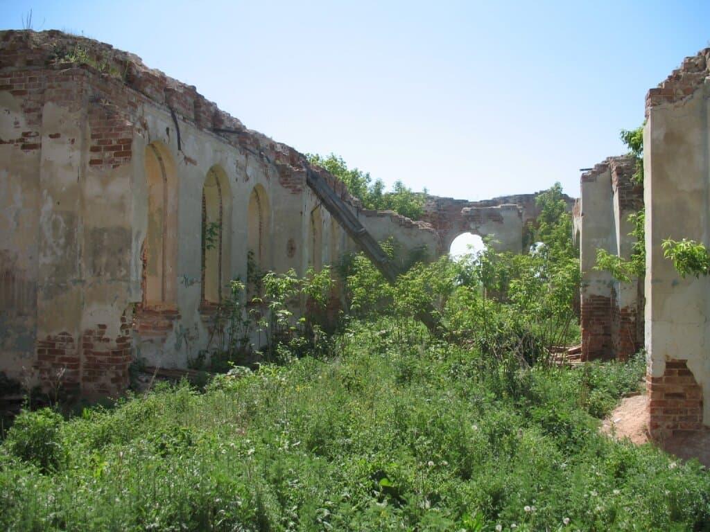 Храм Николая Чудотворца Золотая Гора
