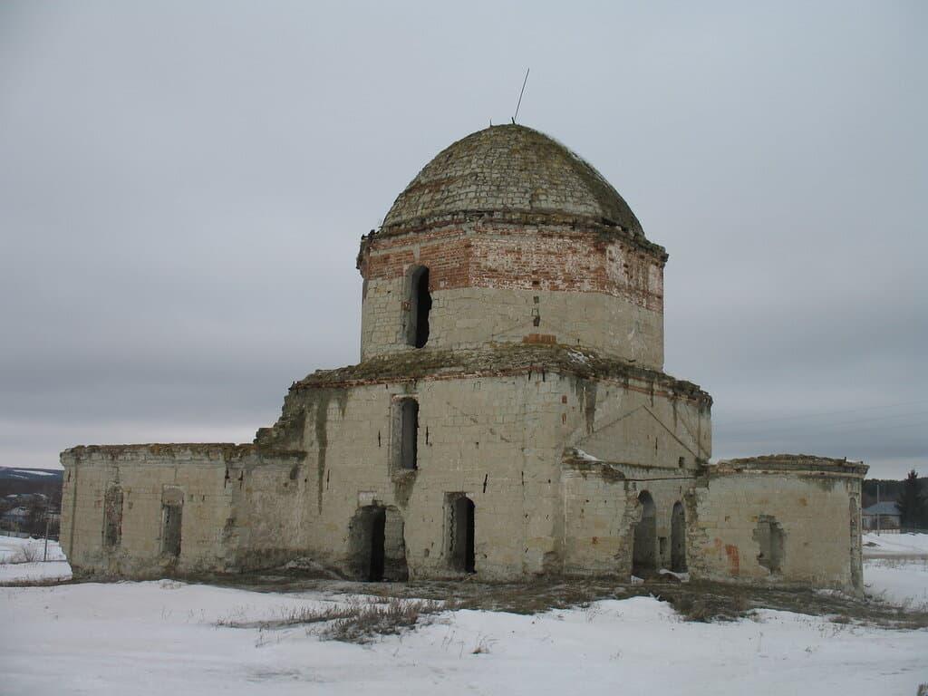 Бахметьевская церковь Лысые Горы