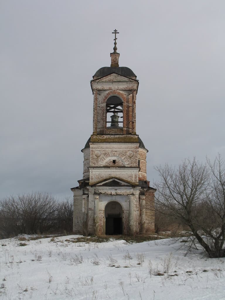 Церковь Богородицы Урицкое