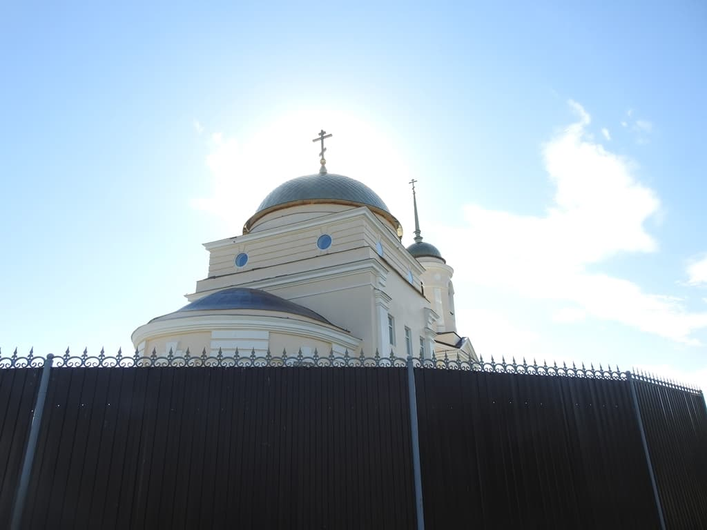 Ивановка храм