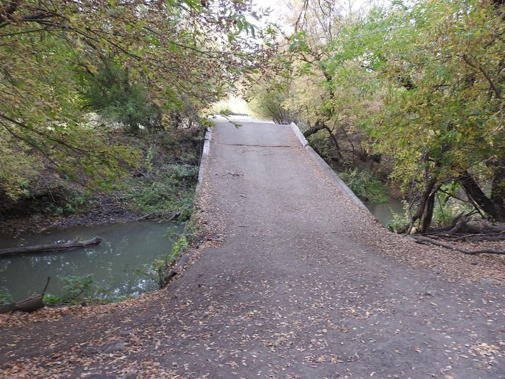 река Кочелай старый мост