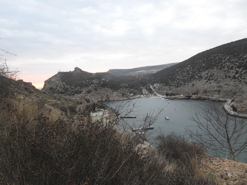 Вид с Крепостной горы