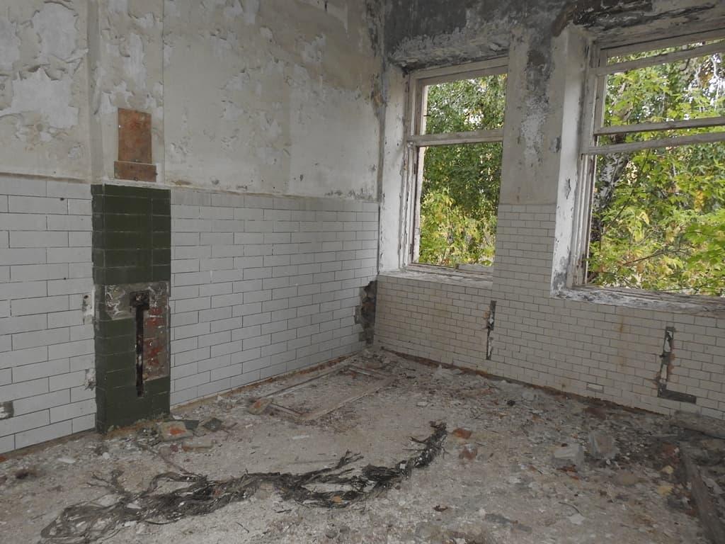 Руины летнего лагеря им. Ф.Э. Дзержинского