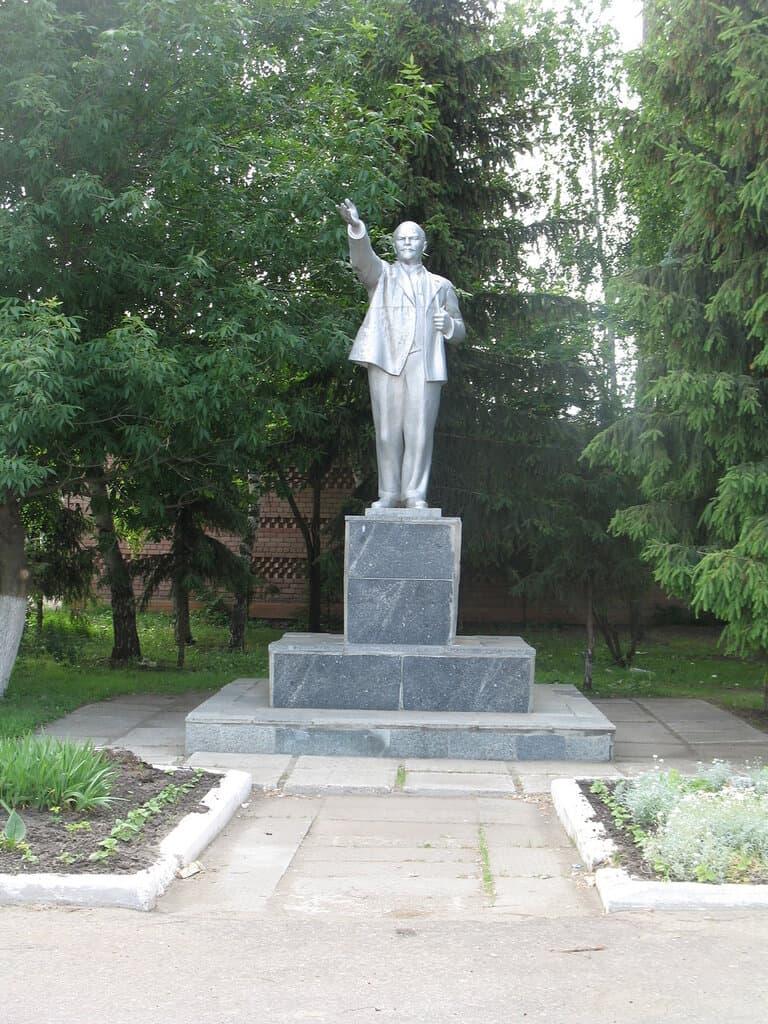 Памятник Ленину Лысые горы