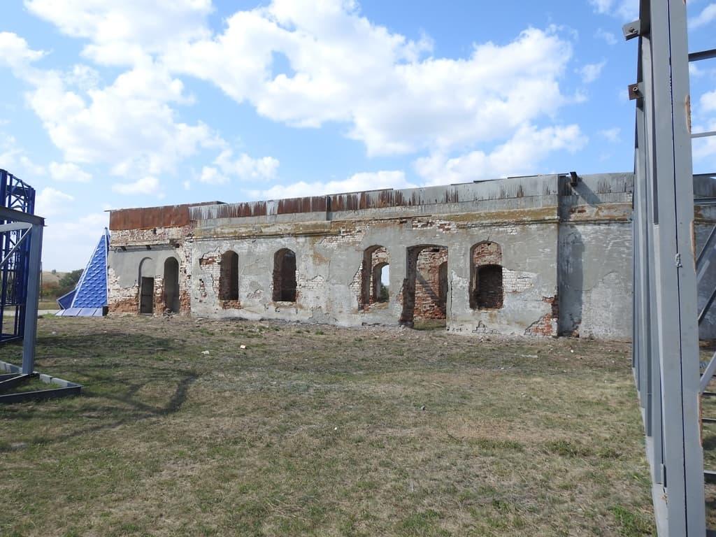 Невежкино реконструкция храма