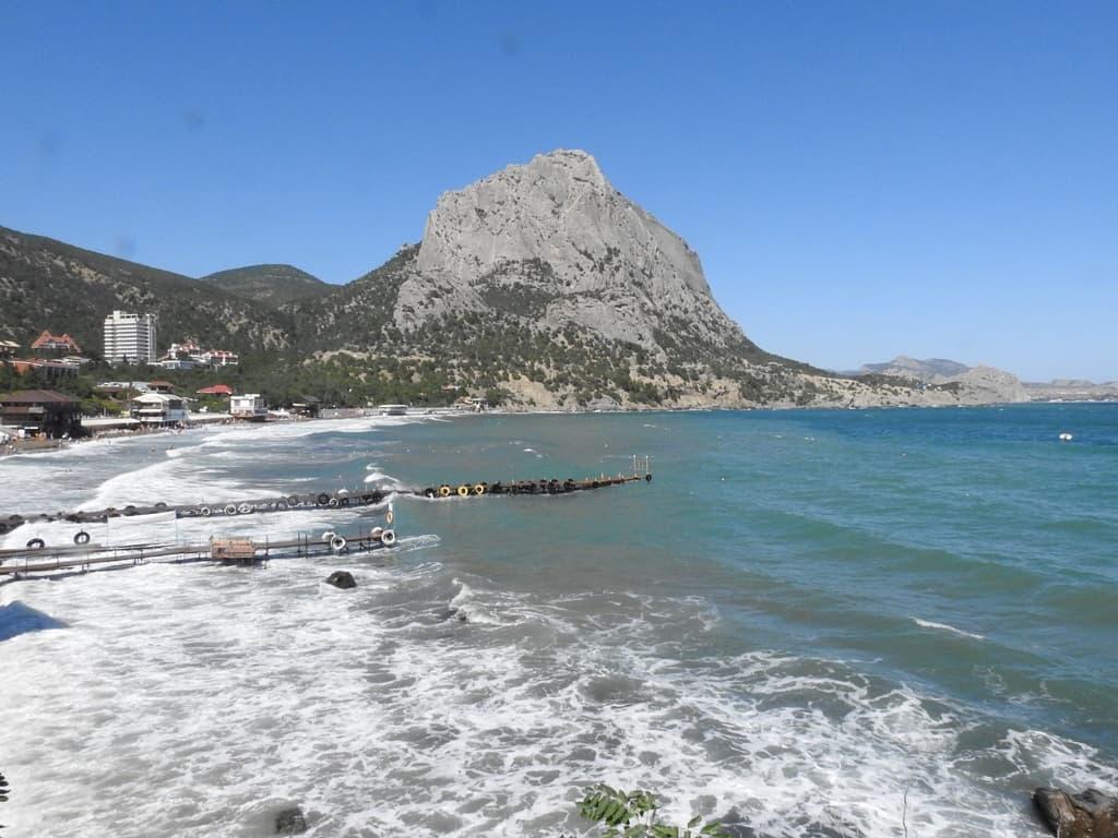 пляж Новый Свет